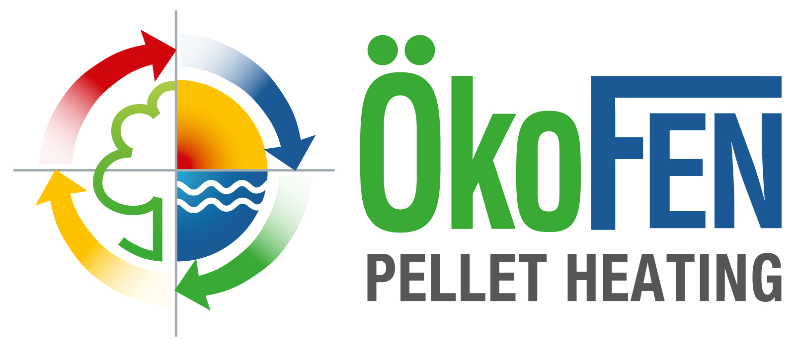 Okofen pellet heating logo